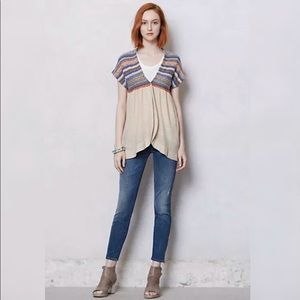 Anthropologie Change of the moon knit cardigan S